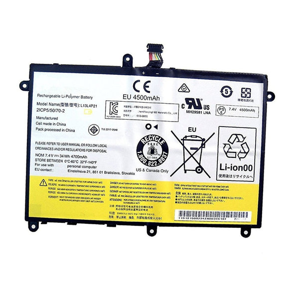 L13M4P21 L13L4P21 Battery For Lenovo Ideapad Yoga 2 11 2332 20428