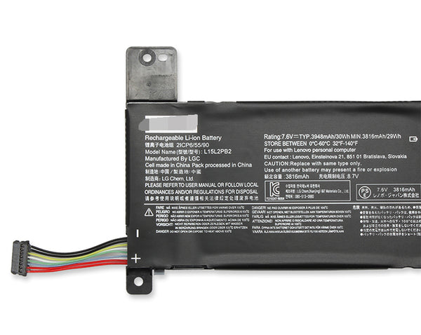 L15L2PB2 L15C2PB2 Battery for Lenovo IdeaPad 310-14ISK 310-14IAP