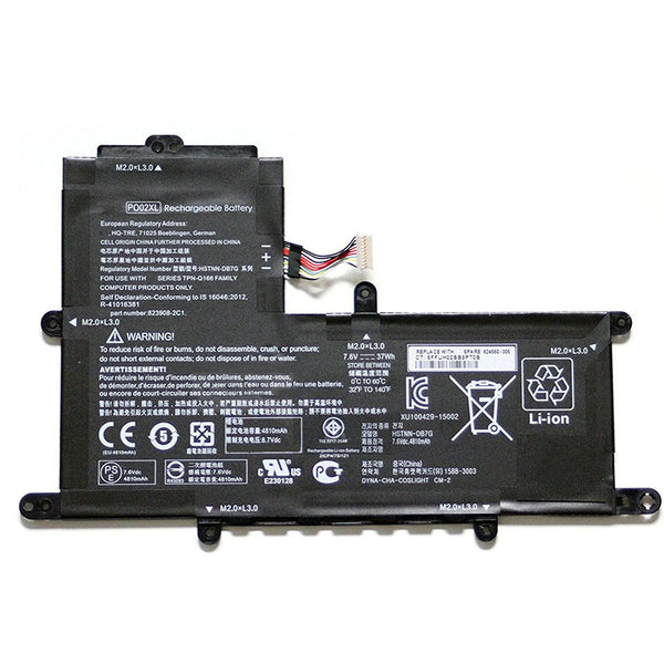 Hp PO02XL 823908-2C1 HSTNN-DB7G  823908-2D1 HSTNN-IB7G Battery
