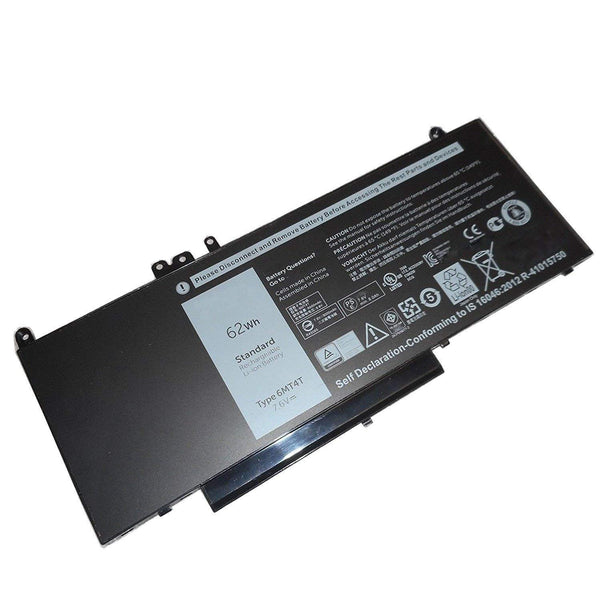 Cheap R0TMP 6MT4T 7.6V 8260mAh 62Wh Battery for Dell Latitude E5450 E5550