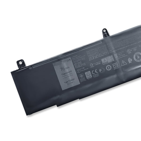TDW5P 76Wh Battery For Dell Alienware 13 R3 D2718 ALW13CR-1738