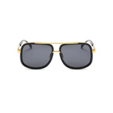 Ross Curved Aviator Sunglasses