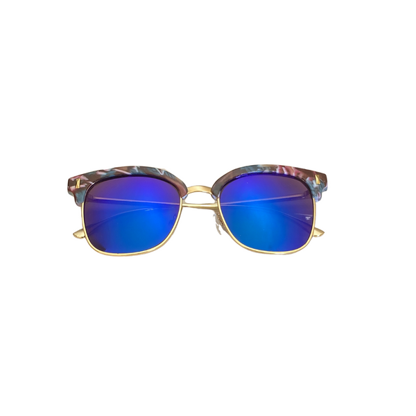 Lily Retro Mirror Sunglasses