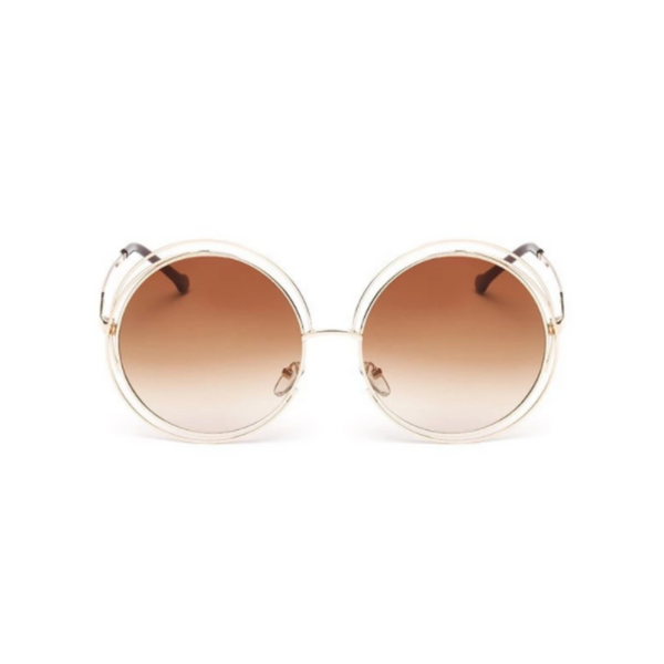 Louisa Large Double Circle Sunglasses