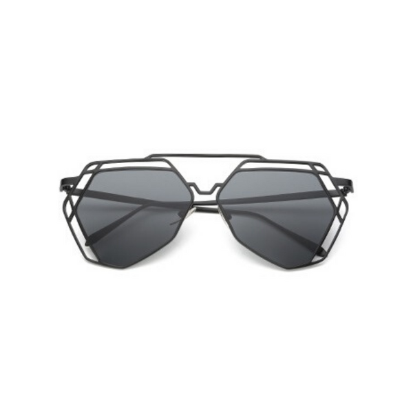 Lauren Hexagon Mirror Sunglasses