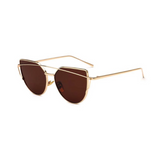 Lucy Mirror Cat Eye Sunglasses