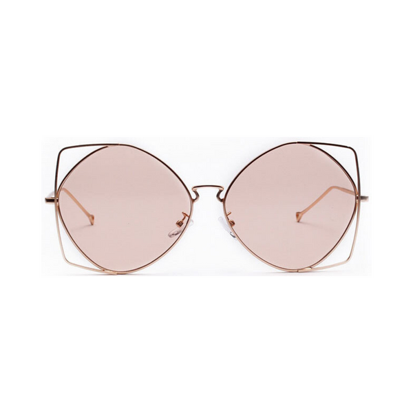 Saadia Slim Oversized Sunglasses