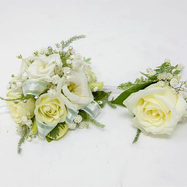 Corsage and Boutonnière
