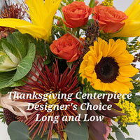 Thanksgiving Centerpieces Designer's Choice Long and Low