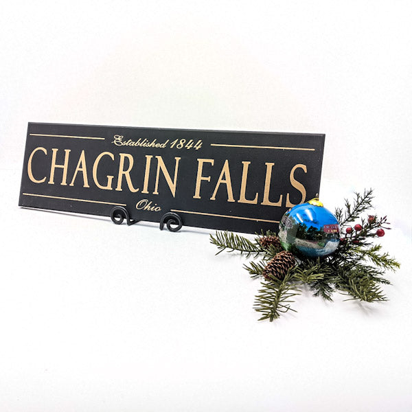 Chagrin Falls Plaque and Ornament
