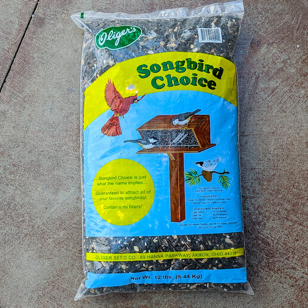 Oliger's Bird Seed - Songbird Choice