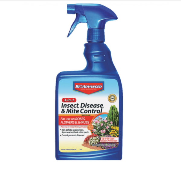 BioAdvanced 3-in-1 Insect, Disease & Mite Control /Hand Spray