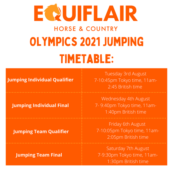 Jumping timetable