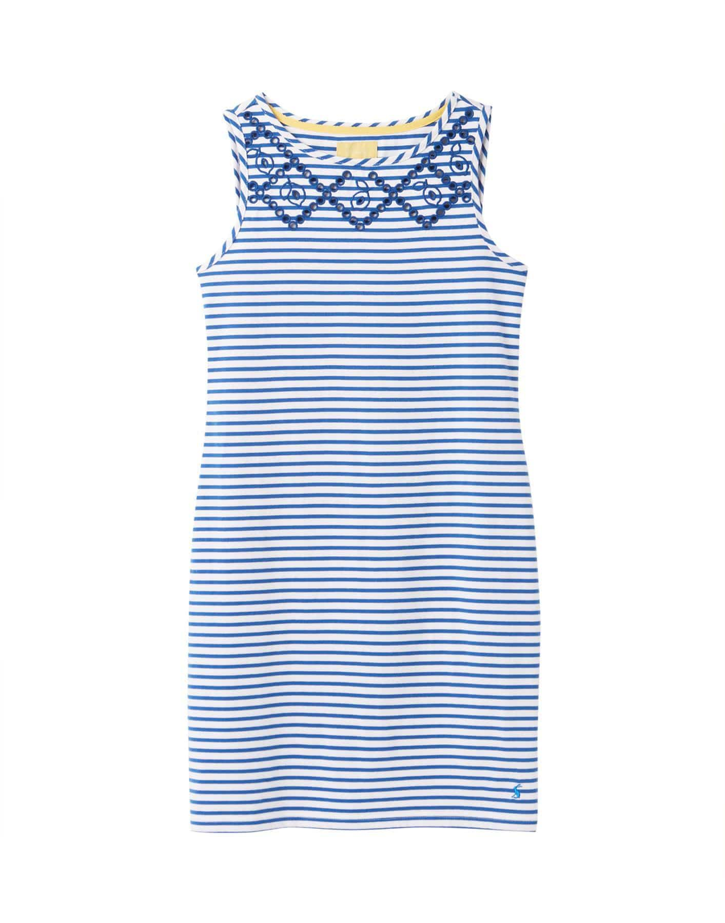 Joules Riva Print Women's Sleeveless Jersey Dress - SS20