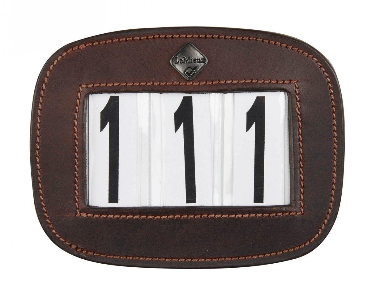 LeMieux Saddle Pad Number Holder Square