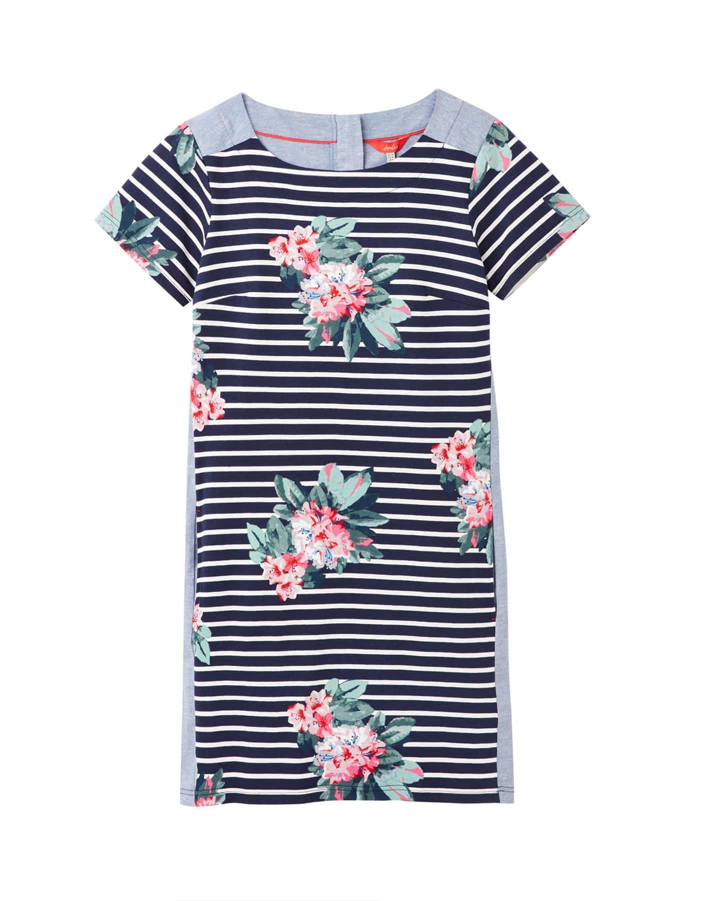 Joules Imelda Women's Jersey Woven Mix Dress- SS20