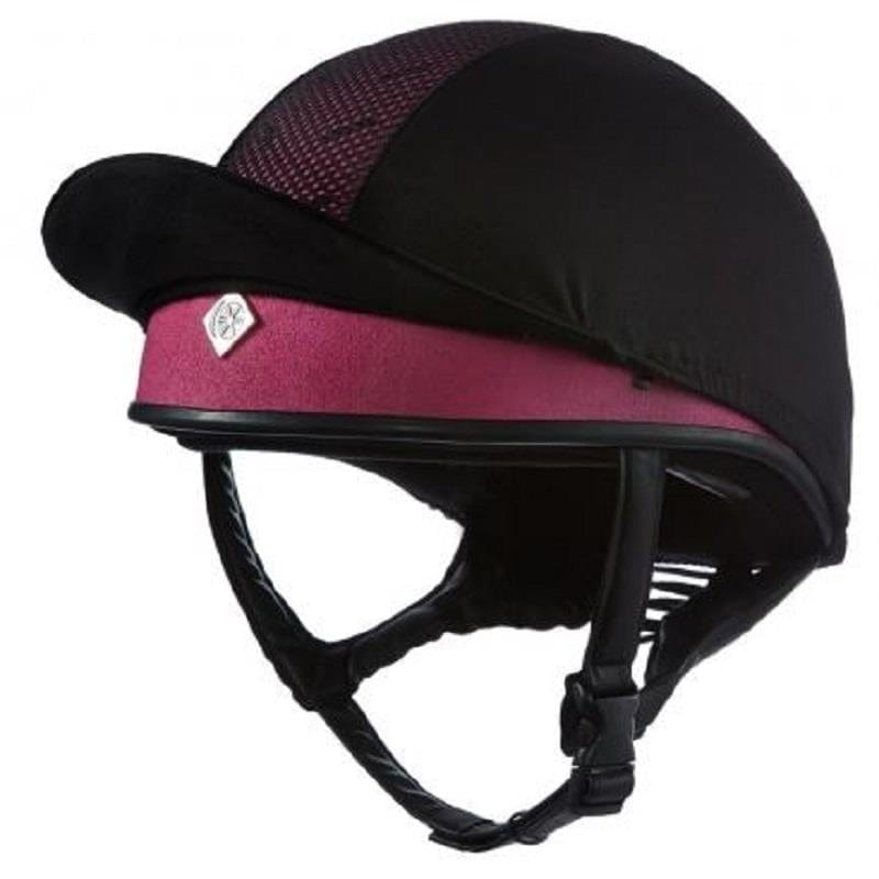 Charles Owen Pro II Skull Riding Hat - Pink - Size 5 (63cm)