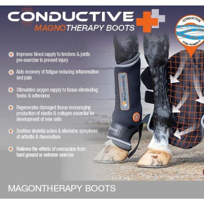 LeMieux Conductive Magnotherapy Magnetic Therapy Boots