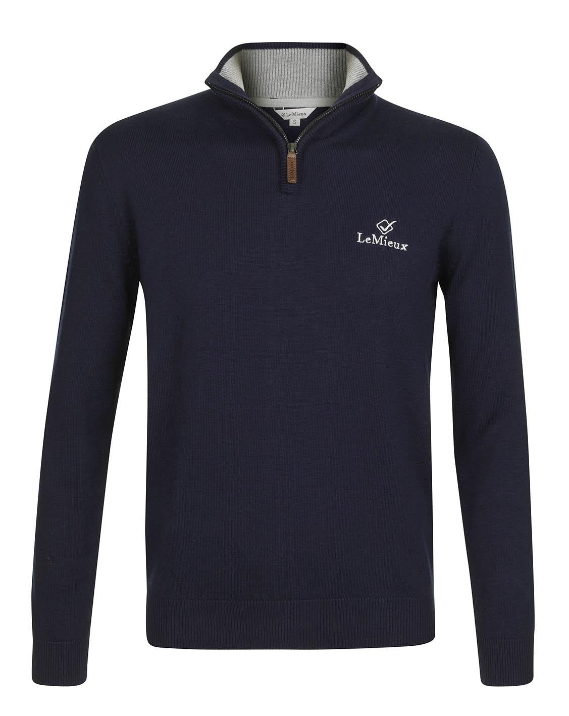 LeMieux Monsieur Mens Crew Jumper