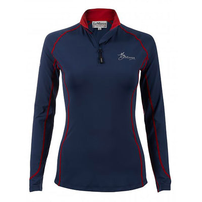 My LeMieux Base Layer Technical Wicking Stretch XC Top - 2019 COLOURS