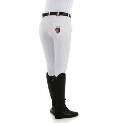 Kingsland Kelly Slim Fit Breeches - White - Size 42