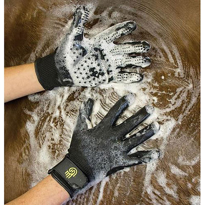 Hands On Grooming Gloves / Mitts for Horses Dogs