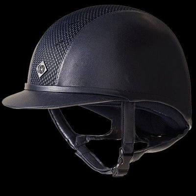 Charles Owen AYR8 Plus Leather Look Premium Riding Hat