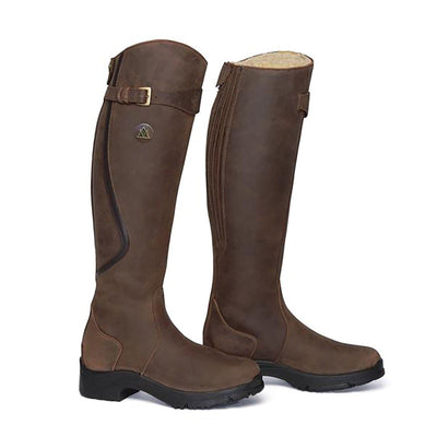 Mountain Horse Snowy River Fur Lined Long Boots - REG/REG
