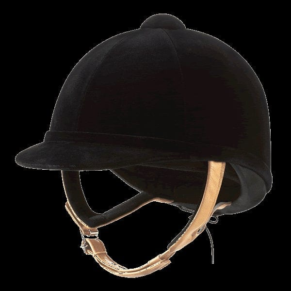 Charles Owen Wellington Classic Velvet Riding Hat