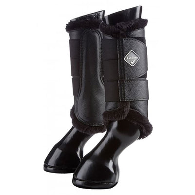 LeMieux Fleece Lined Brushing Boots Dressage/Schooling/Hacking