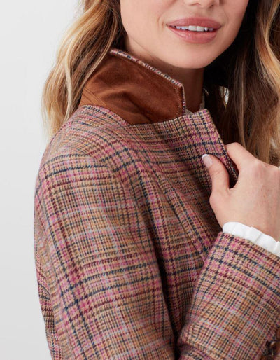 Joules Highcombe Single Breasted Tweed Jacket
