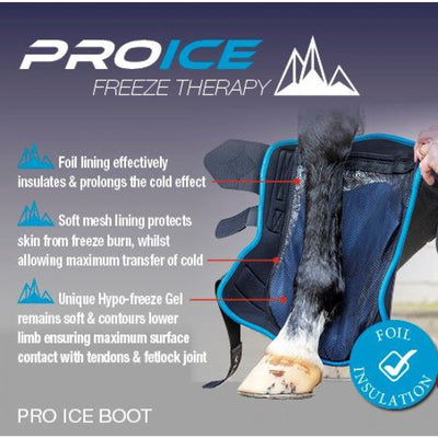 LeMieux ProIce Freeze Therapy Injury Medical Recovery Boots