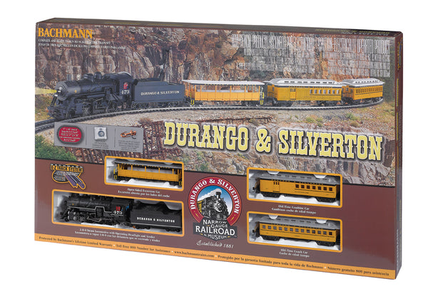 DURANGO & SILVERTON (HO SCALE) TRAIN SET