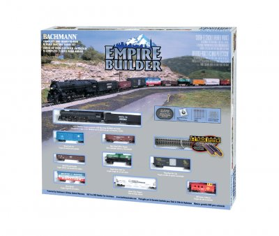EMPIRE BUILDER (N SCALE) Model: 24009 Shipping Weight: 5lbs Scale: N 1:160