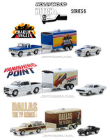Greenlight (#31070-CASE) 1/64 Scale  Hollywood Hitch and Tow Series 6 - 6-Piece Assortment  Two 3-Piece SETS