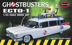 Polar Lights Ghostbusters Ecto-1 1/25 Snap Model Kit 914