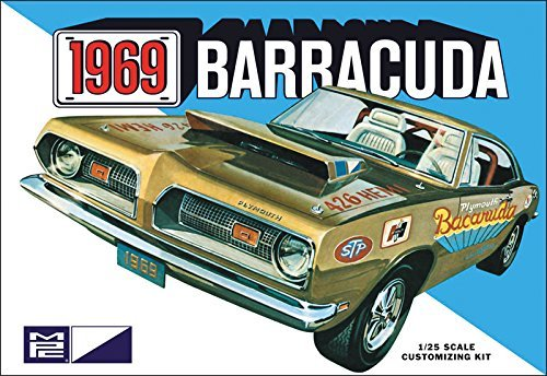 MPC 832 1969 Plymouth Barracuda by MPC