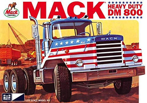 MPC (#899) 1/25 Scale  Mack DM800 Semi Tractor Plastic Model Kit