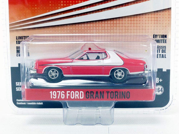 Greenlight 1:64 Hollywood Series 18 Starsky & Hutch 1976 Ford Gran Torino DieCast Vehicle