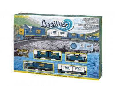 COASTLINER  HO SCALE TRAIN SET