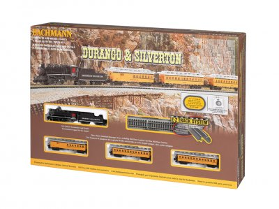 DURANGO & SILVERTON (N SCALE) Model: 24020 Shipping Weight: 3.5lbs Scale: N 1:160