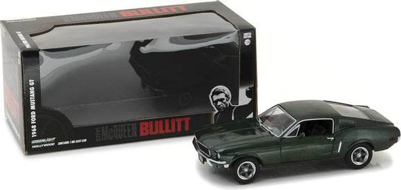 1968 FORD MUSTANG GT FASTBACK 1:24 Hollywood