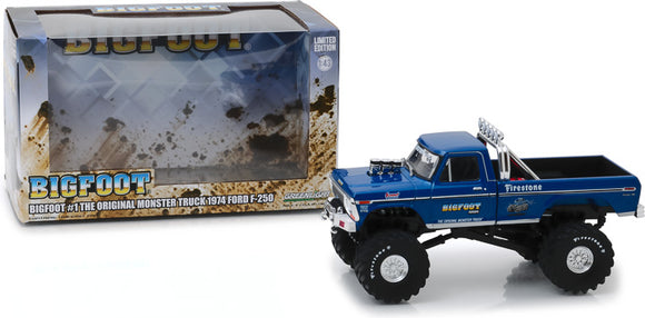 1974 FORD F-250 MONSTER TRUCK 1:43 Scale (86097)