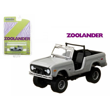 "1967 Ford Bronco 2001 Zoolander"" 1/64 Diecast Car Model by Greenlight"""