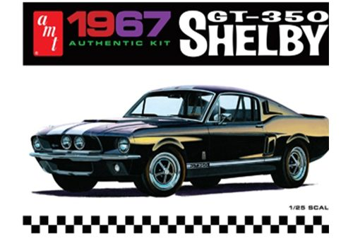 1/25 Scale 1967 Ford Shelby GT350 (Black)