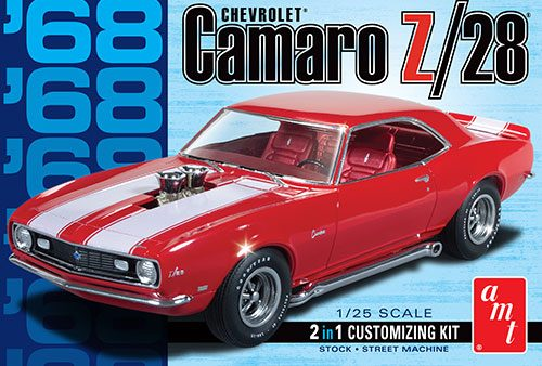 1/25 Scale 1968 Chevy Camaro Z/28