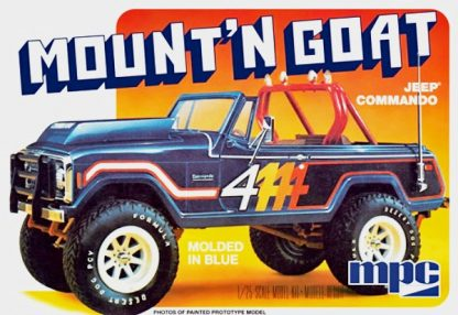 MPC #887 Mount' N Goat Jeep Commando 1:25 Scale Plastic Model Kit