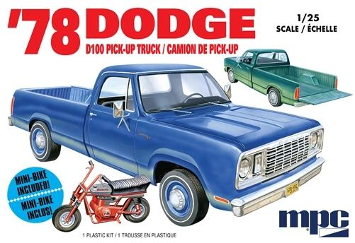 MPC 901 1978 DODGE D100 PICKUP TRUCK F/S M