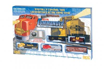 DIGITAL COMMANDER (HO SCALE) TRAIN SET