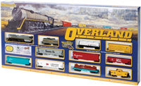 OVERLAND LIMITED (HO SCALE)  Model: 00614 Shipping Weight: 14lbs Scale: HO 1:87